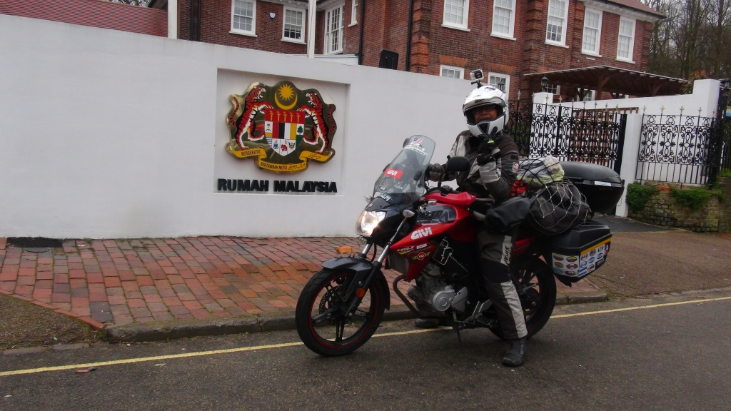 Anita Yusof in the United Kingdom - GIVI Explorer