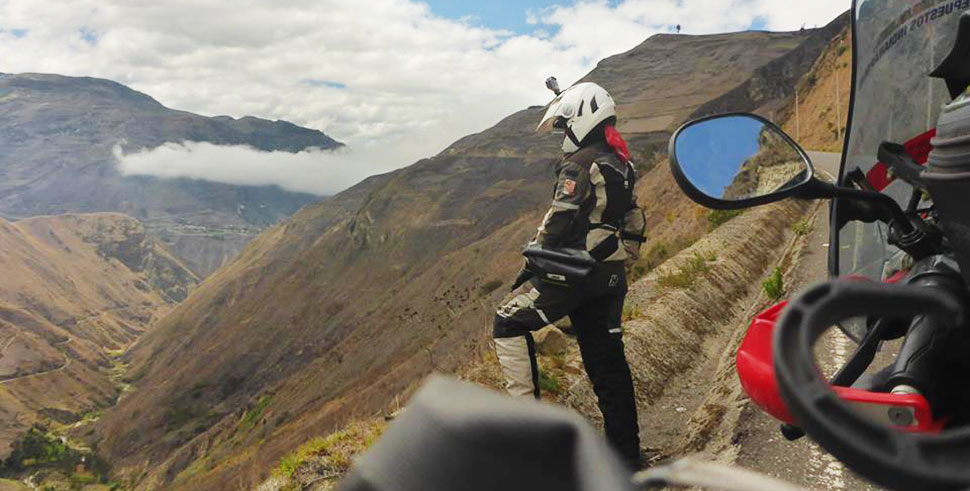 ECUADOR - Givi Explorer - Anita Yusof - Global Dream Ride