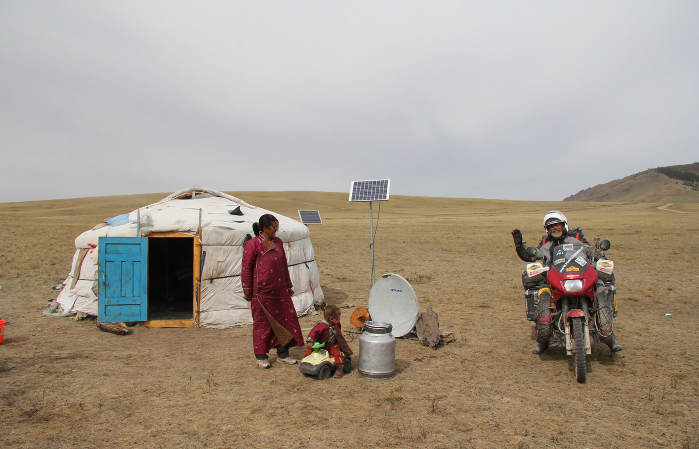 From Italy to Mongolia - Givi Explorer