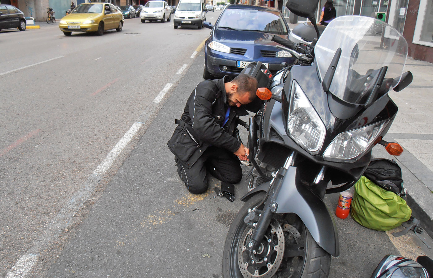 From Italy to Portugal - Givi Explorer