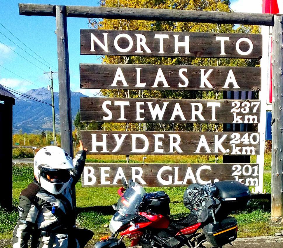 DA CANADA AD ALASKA - Givi Explorer