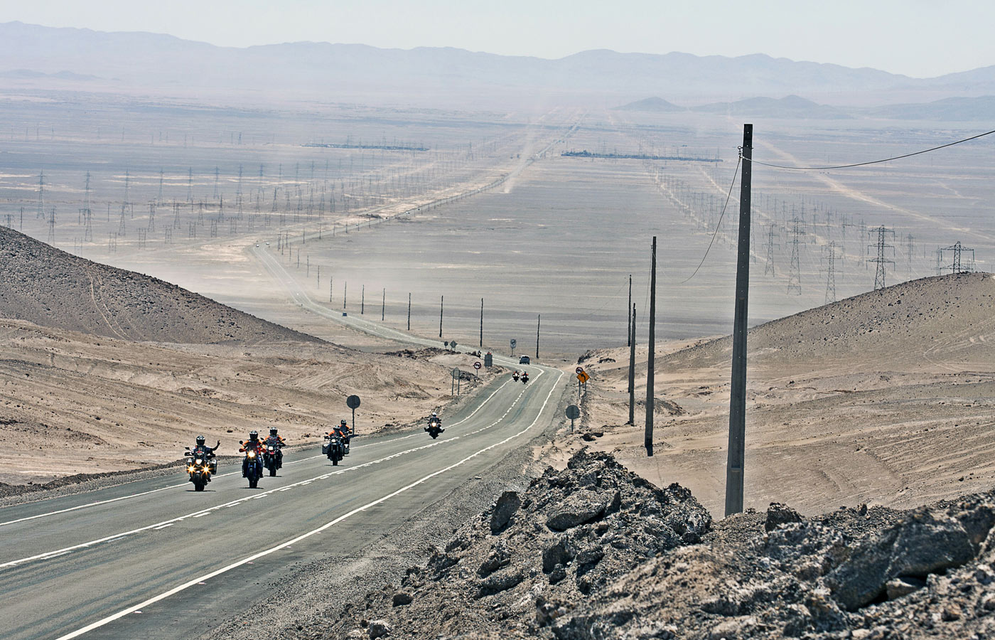 Chile on the tracks of the Dakar - Givi Explorer