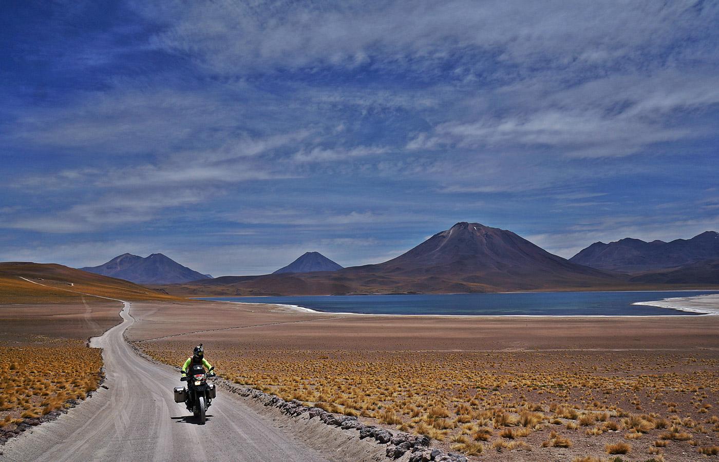 Chile on the tracks of the Dakar - Givi Explorer