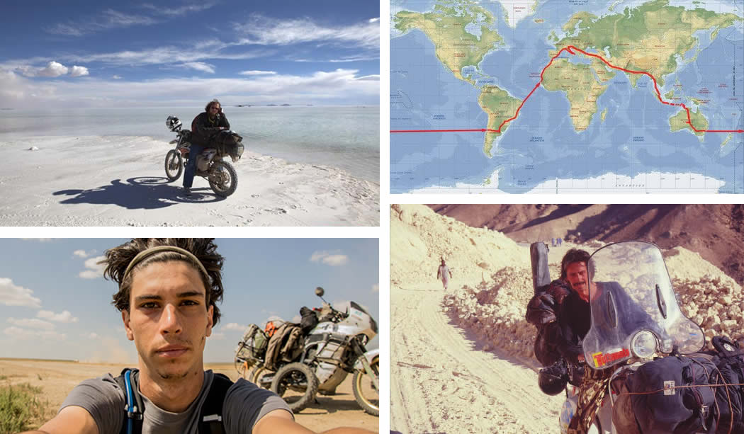 HOW TO FACE THE WORLD TRIP WITH YOUR MOTORBIKE - Givi Explorer