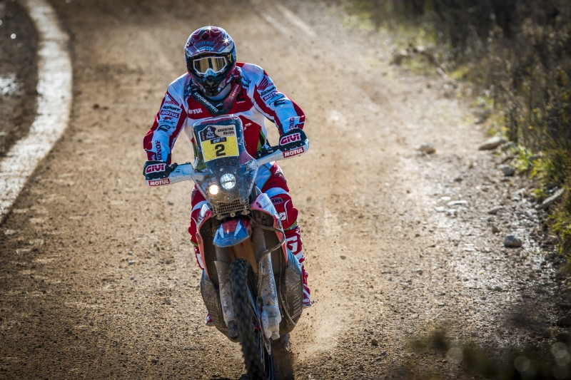 GIVI joins Team HRC to conquer the 2016 Dakar Rally