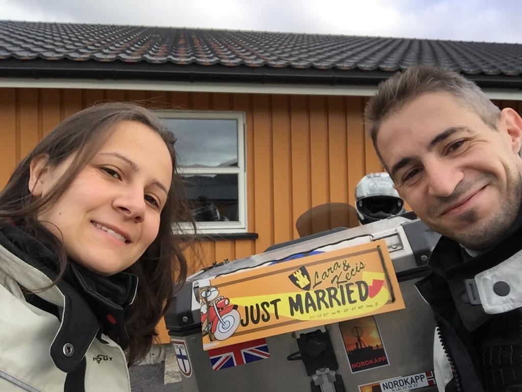 Wedding in Nordkapp - Givi Explorer