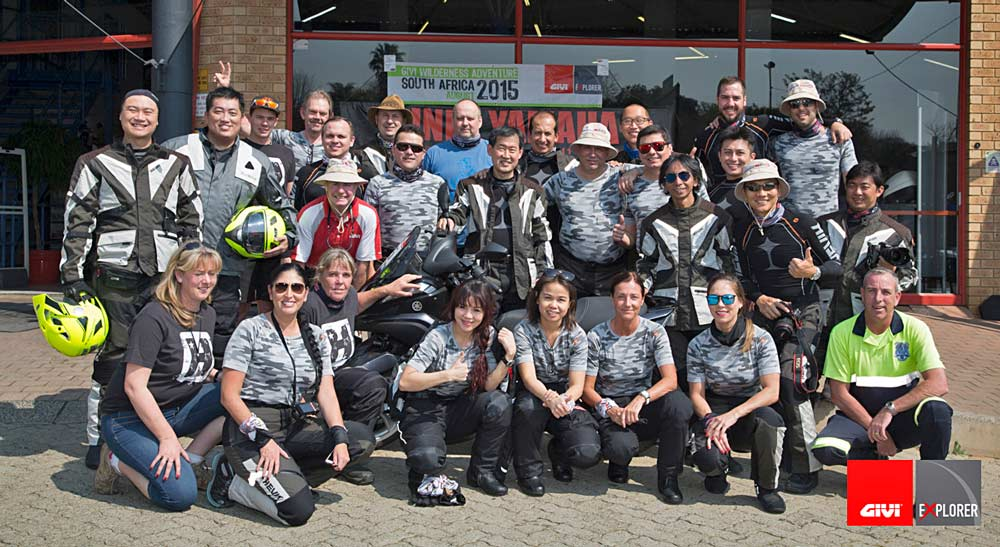 Givi Explorer South Africa Tour: the Team